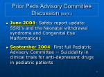 prior peds advisory committee discussion cont1