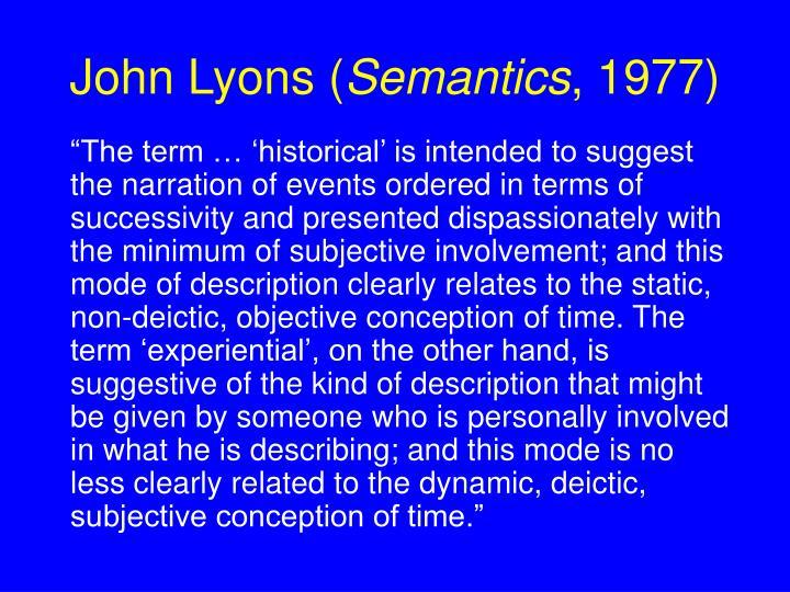 John Lyons (