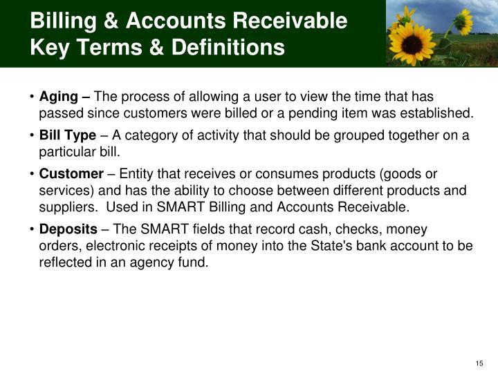 Billing & Accounts Receivable