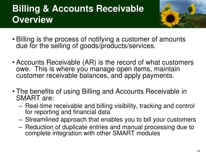 Billing & Accounts Receivable Overview