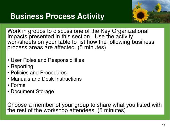 Business Process Activity