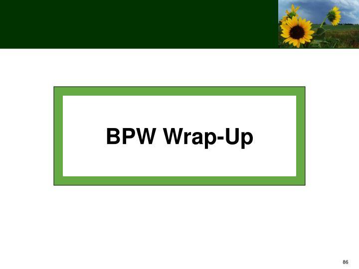 BPW Wrap-Up