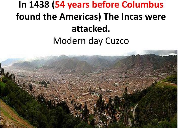 In 1438 (