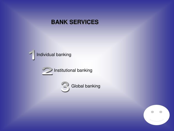 BANK SERVICES