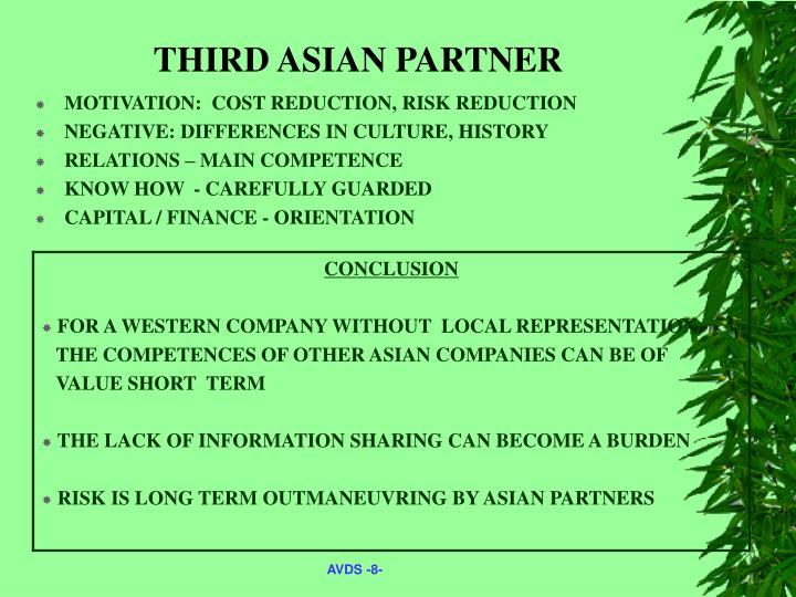 THIRD ASIAN PARTNER