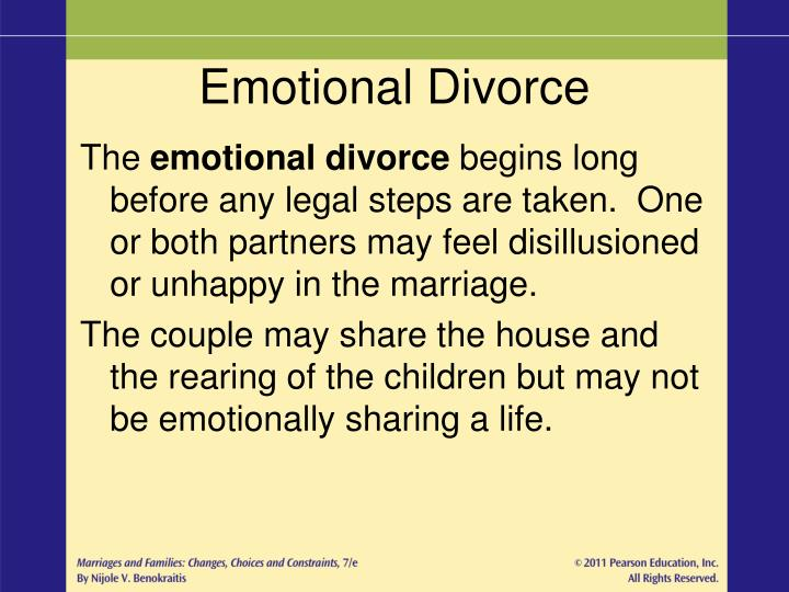 Emotional Divorce