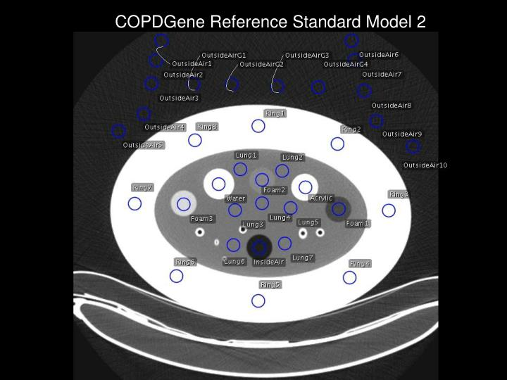 COPDGene Reference Standard Model 2