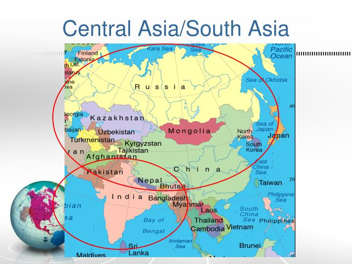 Central Asia/South Asia