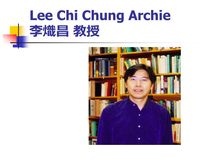 Lee Chi Chung Archie
