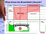 what drives the brownfield lifecycle