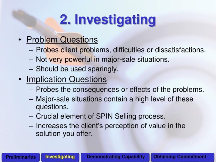 Investigating