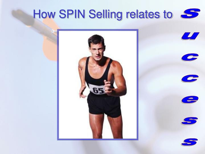 How SPIN Selling relates to