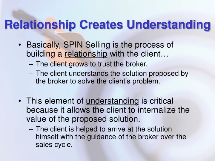 Relationship Creates Understanding