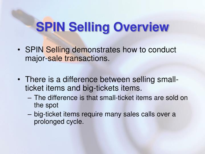 SPIN Selling Overview