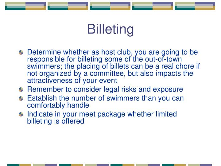 Billeting