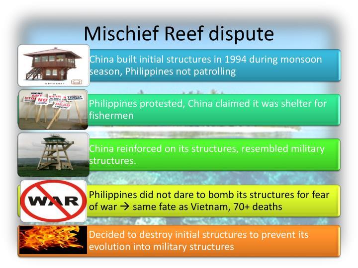 Mischief Reef dispute