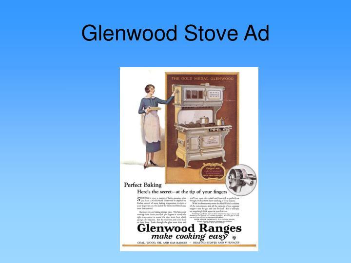 Glenwood Stove Ad