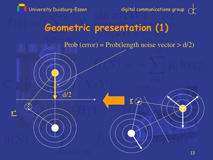 Geometric presentation (1)