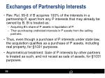 exchanges of partnership interests2
