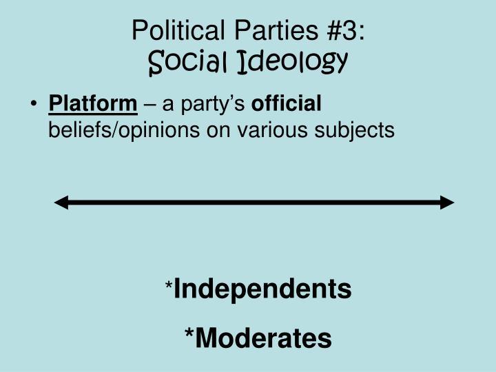 Political Parties #3: