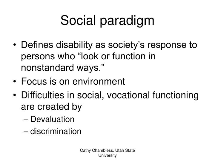 Social paradigm