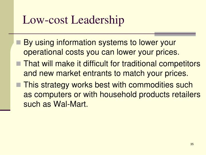Low-cost Leadership