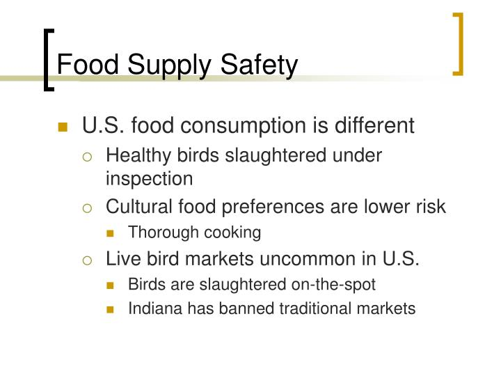 Food Supply Safety