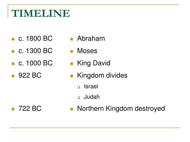 c. 1800 BC