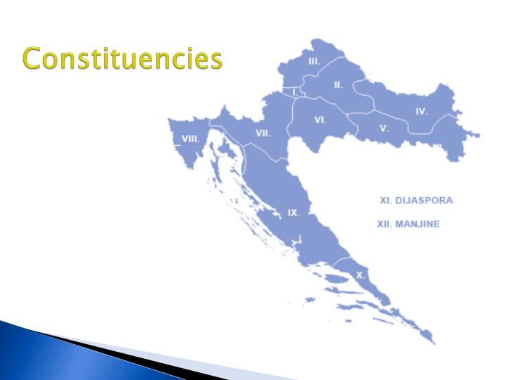 Constituencies