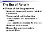 the era of reform1