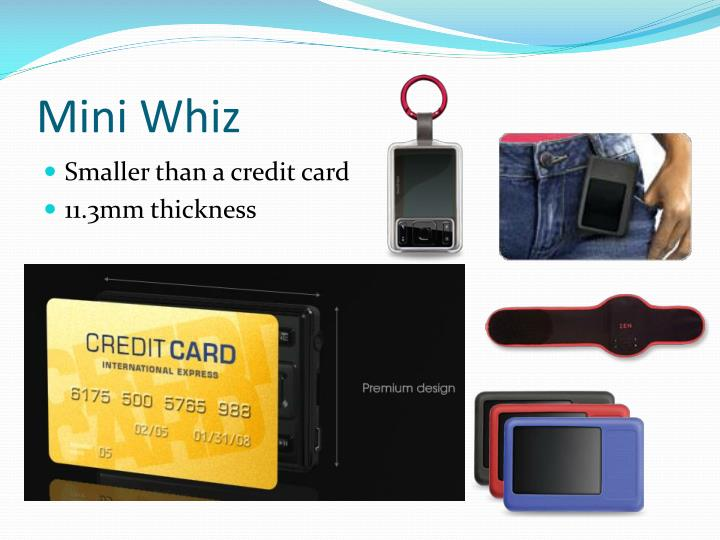 Mini Whiz