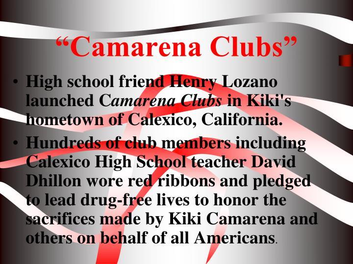"""""""Camarena Clubs"""""""