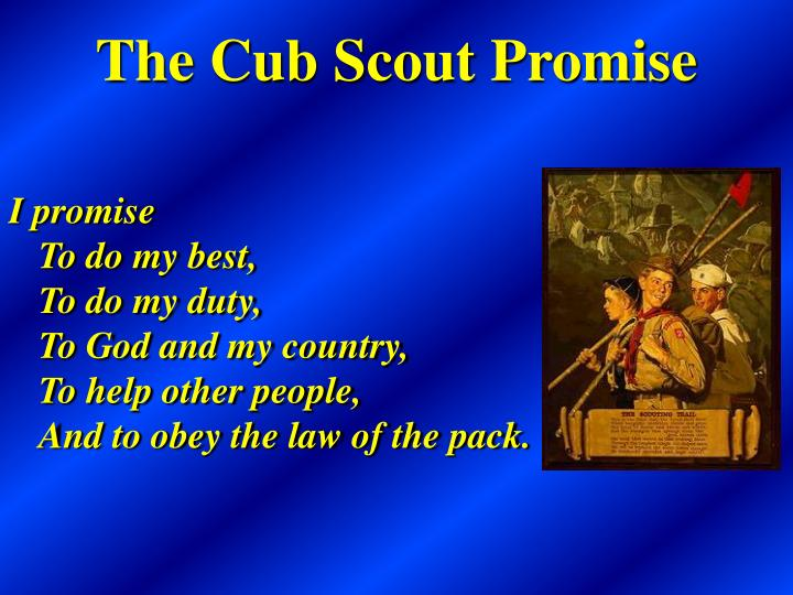 Ppt cub scout pack xxx school night for scouting for Cub scout powerpoint template