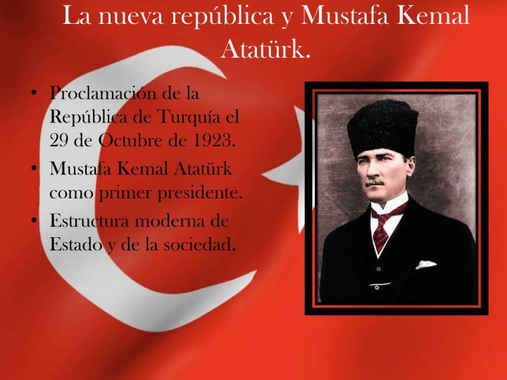 La nueva república y