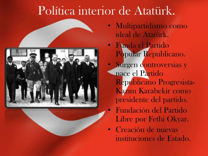 Política interior de