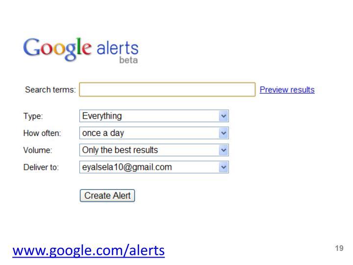 www.google.com/alerts