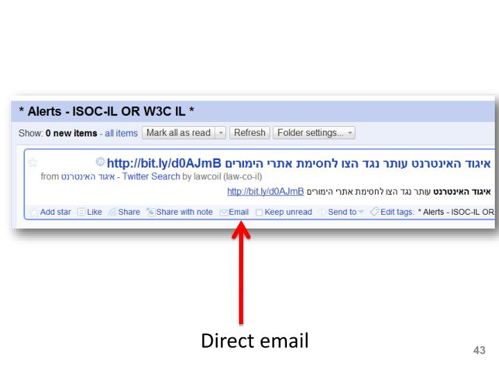 Direct email