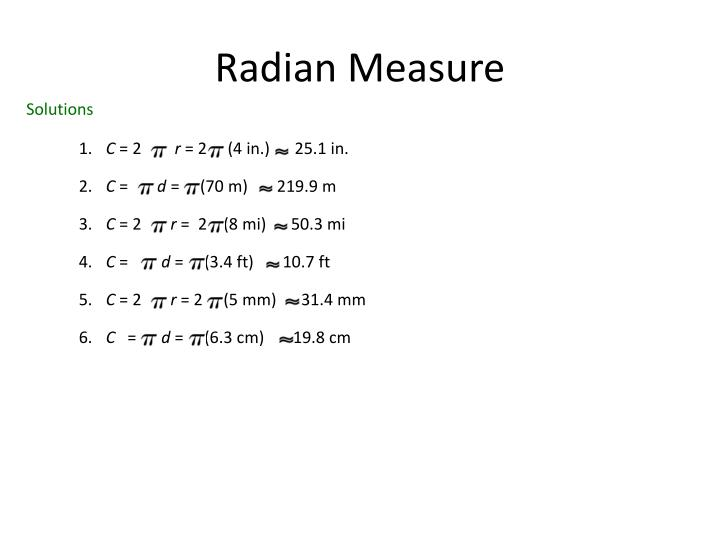 Radian measure1