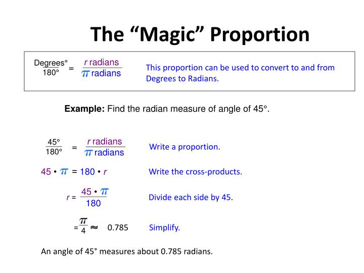 "The ""Magic"" Proportion"