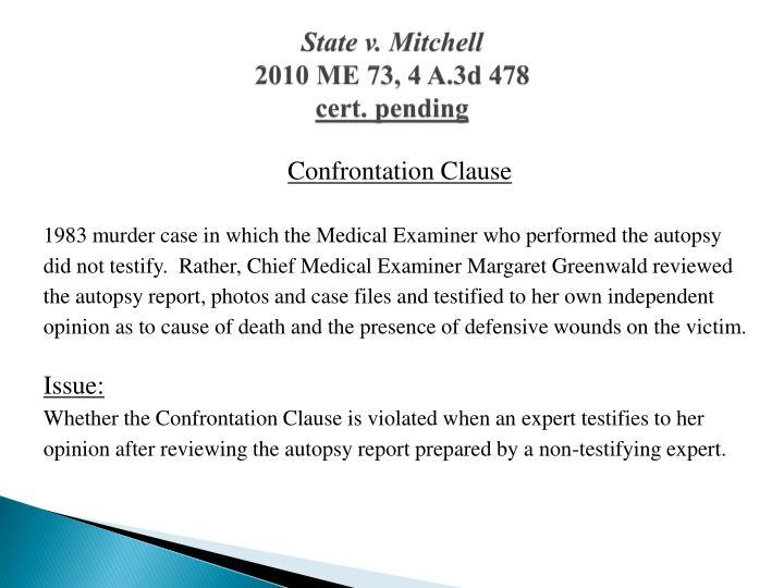 State v. Mitchell