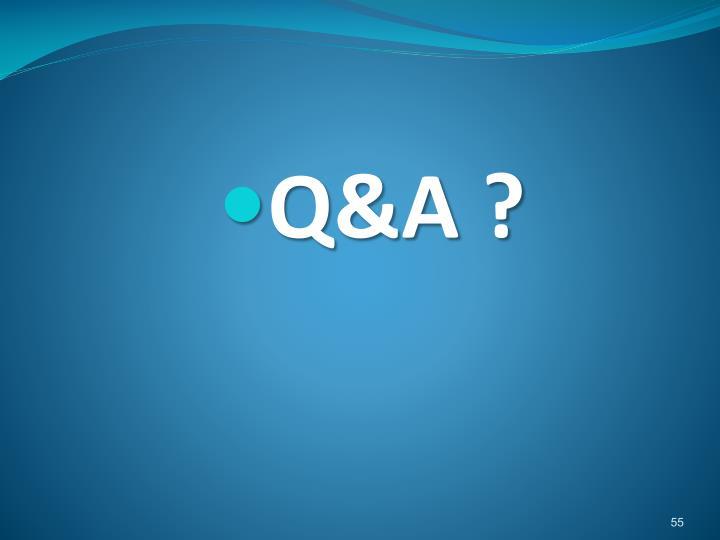 Q&A ?