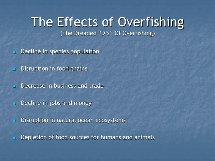 overfishing fish and n d web These results enable to assess when and where fishing became  a global trend  of fishing down marine food webs and (iii) the fishing in balance  129) and  global marine ecosystems (n = 91 te: mean = 1192, sd = 542,.