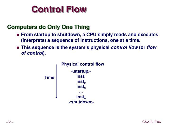 Control Flow