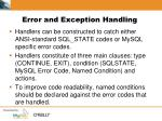 error and exception handling2