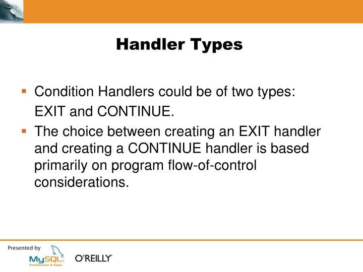Handler Types