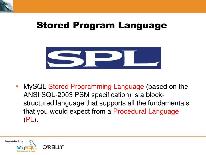 Stored Program Language