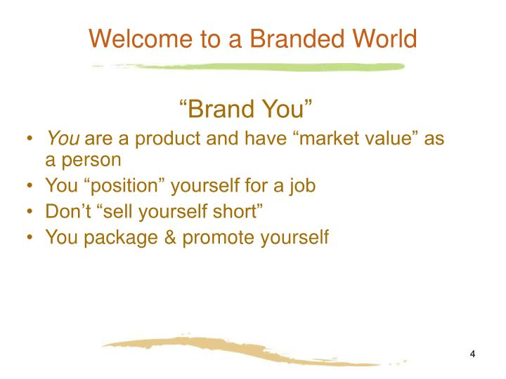 Welcome to a Branded World