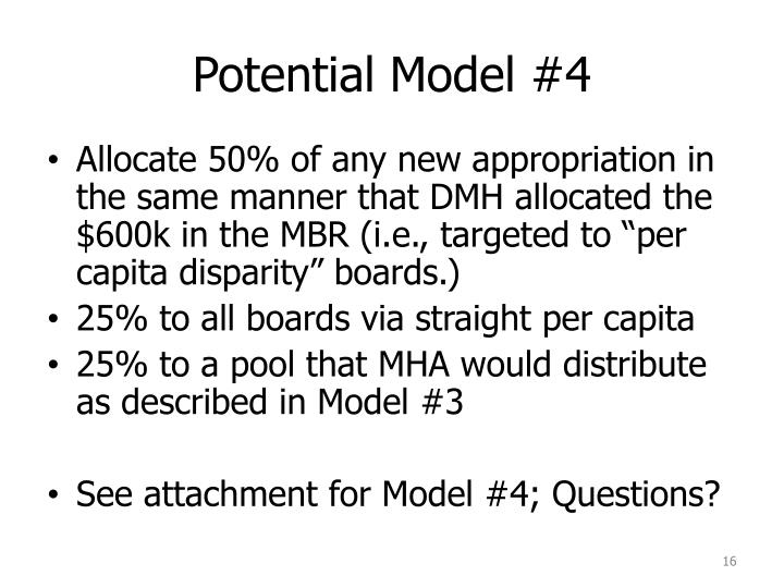 Potential Model #4