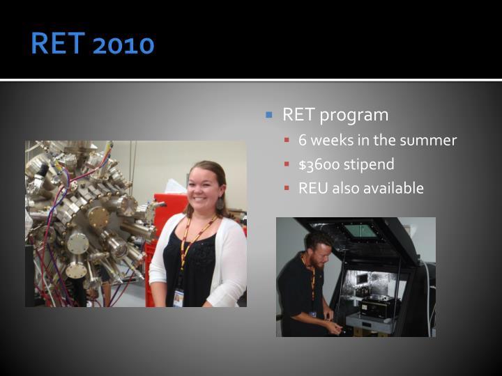 RET 2010