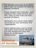 inclusion of gentiles